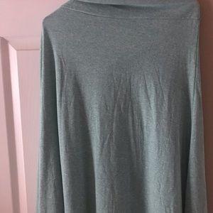 LuLaRoe Skirts - LulaRoe NWT Large Heathered Green Maxi Skirt
